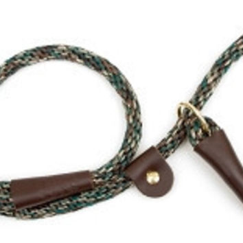 "Mendota Dog British Slip Lead & Leash 1/2"" x 4' Camo"