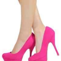 Candy Land Pump - Fuchsia