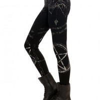 Pentagram Leggings - Clothes | GYPSY WARRIOR