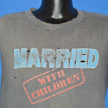 80s Married With Children TV Show Distressed t-shirt Large