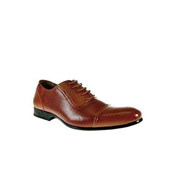 Ferro Aldo 19339 Men's Lace Up Cap Toe Oxfords Dress Shoes