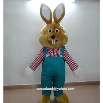 Easter/Xmas Rabbit/Bunny Mascot Costume,Bunny Cosplay,Adult Costume,Party Costume,Halloween Costume,Easter Bunny,Rabbit Cosplay,Clothing