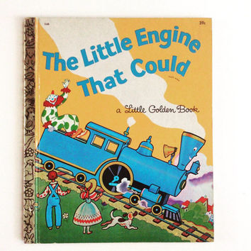 The Little Engine That Could - Vintage Little Golden Book
