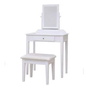 Homecraft Furniture 3-Piece White Vanity Set-MH203-WH - The Home Depot
