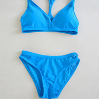 Plain Triangle Bikini