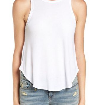 Treasure&Bond Rib Knit Swing Tank | Nordstrom