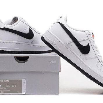 LMFON NIKE Air Force 1 Low Black White For Women Men Running Sport Casual Shoes Sneakers