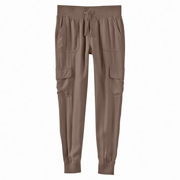Mudd Knit Waistband Rayon Cargo Pants - Girls