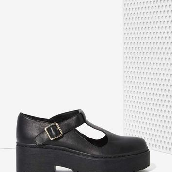 Jeffrey Campbell Teleri Leather Mary Janes