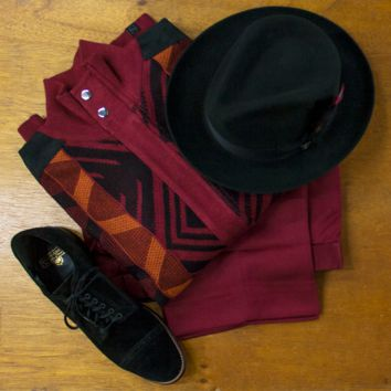 Burgundy Fall & Winter Outfit