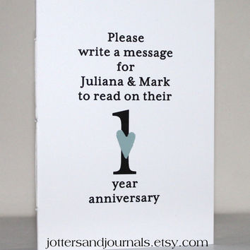 Table Number Books - Wedding Guest Book Alternatives