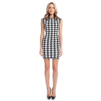 Erin Oversized Houndstooth Dress