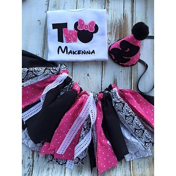 Minnie Mouse 2nd birthday outfit
