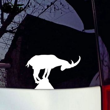20*12.5CM Mountain GOATS Cartoon Reflective Car Stickers And Decals Motorcycle Car Styling
