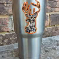 Yeti decal personalized with state, name, and YETI lid sticker for your 30 oz Yeti rambler, mug, cup