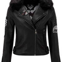 All Fired Up Biker Jacket [B]