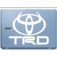 TRD Toyota Devil Horns Automobile Tablet Decal Tablet PC Sticker Wall Laptop mobile truck Notebook macbook Iphone Ipad Car Window Decal