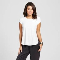 Women's Lattice Back Shirt Tail T-Shirt - Soul Cake (Juniors')