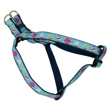 CREYCY8 Ice Cream Scoops Dog Harness