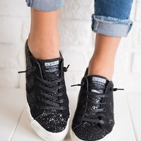 Sparkle In Your Eye Tennis Shoes (Black)