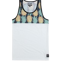 Neff Pineapple Dreamin Tank Top - Mens Tee - White