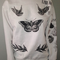 Harry Styles Tattoo Sweater