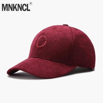 Trendy Winter Jacket  Suede Baseball Cap Casual Men Women Hat Suede Snapback Hat Gorra Hombre Solid Cappello Hip Hop Baseball Cap AT_92_12