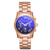 Runway Flash Lens Rose Gold-Tone Watch | Michael Kors