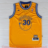 Stephen Curry Golden State Warriors 30 NBA Basketball Jersey Golden State Warriors