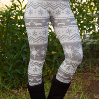 Up To Snow Good Leggings - Grey