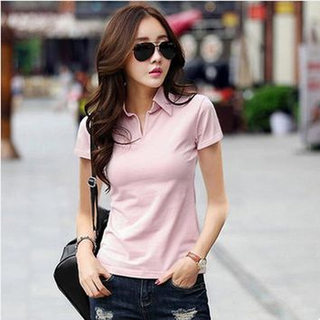Summer Polo Shirt for Women