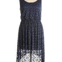 Soap Opera Dress in Navy - $52.95 : Indie, Retro, Party, Vintage, Plus Size, Convertible, Cocktail Dresses in Canada