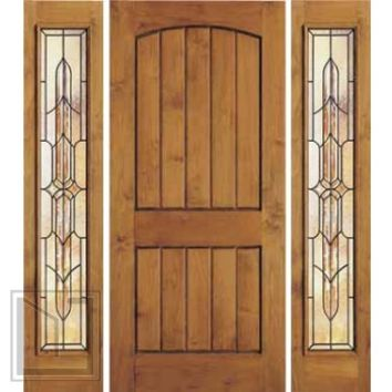 Jeld Wen 1322 Wire Brushed Knotty Alder Door Sidelights Cho