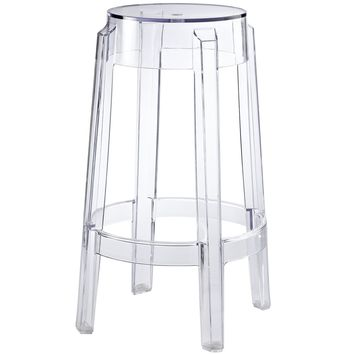 Casper Counter Stool Clear EEI-171-CLR