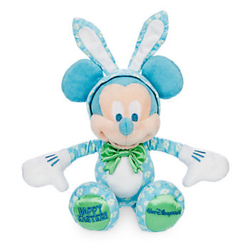 disney parks walt disney world mickey bunny happy easter plush new with tags