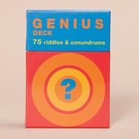 Genius Deck by Chronicle Books - ShopKitson.com