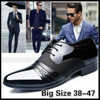 2016 Classical Men Dress Flat Shoes Luxury Men's Business Oxfords Casual Shoe  [8822144707]