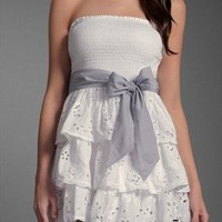 point bowknot waistband tee dress from shoponline4