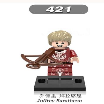 Single Sale Super Heroes Game of Thrones  Joffrey Baratheon Tyrion Lannister Building Blocks Kids Gift Toys XH 421