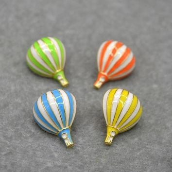 New Fashion Style Cartoon Enamel Pins Cute Hot air Balloon Brooch Pins Fashionable Jewellry Wholesale Birthday Gifts