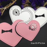 METAL CUTTING DIES love heart  DIY Scraper card album PAPER CRAFT embossing folder stencils template art die cut