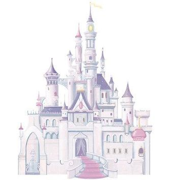 Disney Princess Castle Peel & Stick Giant Wall Decal 👸