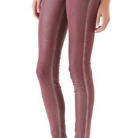 J Brand 901 Super Skinny Metallic Coated Jeans | SHOPBOP