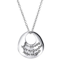 Grandma Engraved Necklace