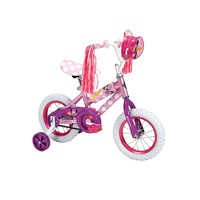 Minnie Mouse 12 Inch Toddlers,Kids Bike,Bicycle with Training Wheels, Tricycle