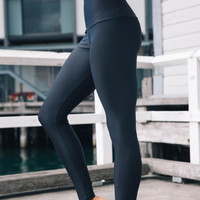 High Rise Leggings - Black