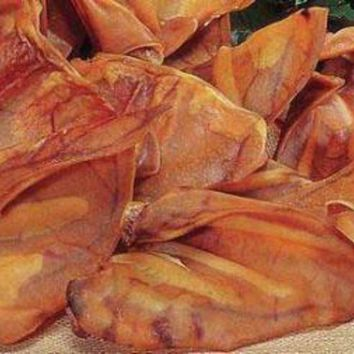 MDIGYN5 Pet Center Premium Natural Chews Large Pig Ears 100 Ct.
