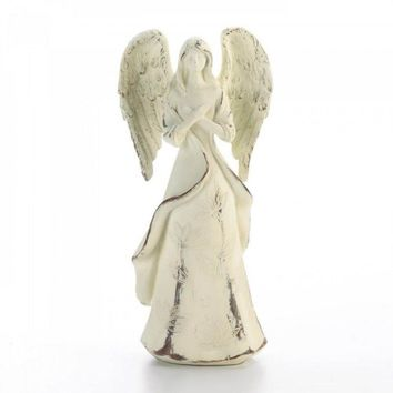 Never Give Up Hope Angel Figurine