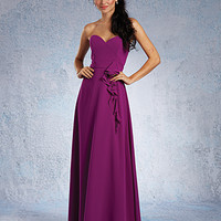 Alfred Angelo Long Chiffon Bridesmaid Dress 7320L