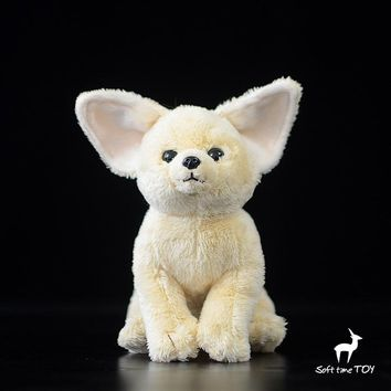 Desert Fox Stuffed Animal Plush Toy 7""